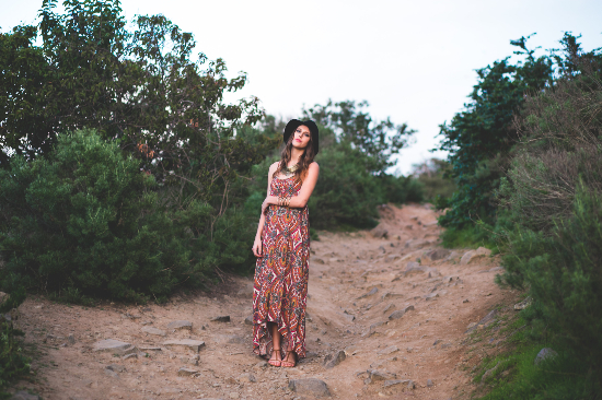 SoCal Bohemian inspired shoot